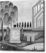 Mourning C1815 Acrylic Print