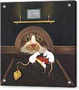 Mouse House Acrylic Print