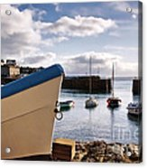 Mousehole Harbour On A May Morning Acrylic Print