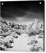 Mouses Tank Trail Valley Of Fire State Park Nevada Usa Acrylic Print
