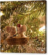 Mousie Love In A Tree Acrylic Print