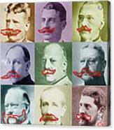 Moustaches Acrylic Print