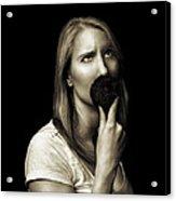 Movember Eighth Acrylic Print by Ashley King