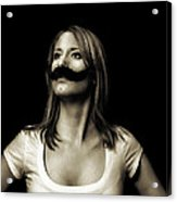 Movember Fourth Acrylic Print by Ashley King