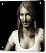 Movember Second Acrylic Print