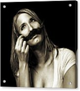 Movember Seventh Acrylic Print by Ashley King