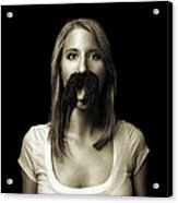 Movember Tenth Acrylic Print