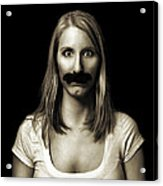 Movember Third Acrylic Print by Ashley King
