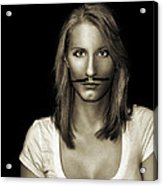 Movember Thirteenth Acrylic Print