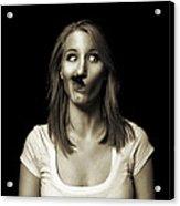 Movember Twentyeighth Acrylic Print by Ashley King