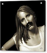 Movember Twentyfourth Acrylic Print by Ashley King