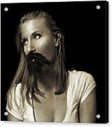 Movember Twentyninth Acrylic Print by Ashley King