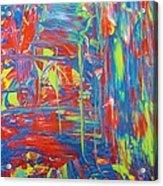 Movements Of Acrylic Acrylic Print