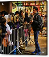 Movie Stars - The Artist Signing Autographs Acrylic Print