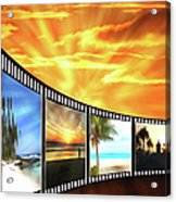 Movies At Sundown Acrylic Print