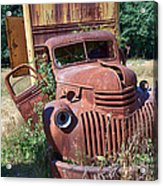Moving Day In A Chevrolet Acrylic Print
