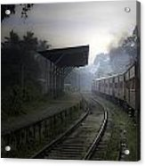 Moving Train Acrylic Print