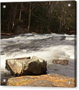 Moving Waters Acrylic Print