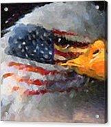 Mr. American Eagle Acrylic Print