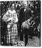Mr. And Mrs. Luther Burbank Acrylic Print