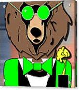 Mr Bear Acrylic Print