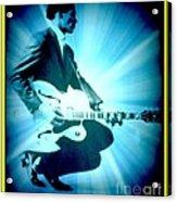 Mr Chuck Berry Blueberry Hill Style Edited 2 Acrylic Print