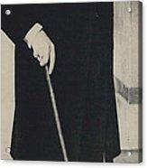 Mr. Churchill Calls On King Frederick Of Denmark At Acrylic Print
