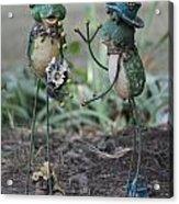 Mr. Frog Went A Courten Acrylic Print