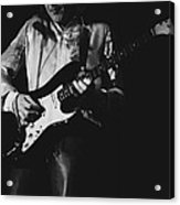 Mick On The Rock And Roll Guitar Acrylic Print