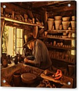 Mr. Potter Acrylic Print