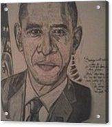Mr. President Acrylic Print
