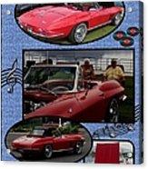 Mr. Sox Corvette Acrylic Print