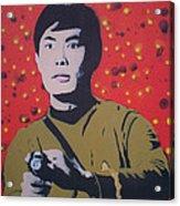 Mr Sulu Acrylic Print