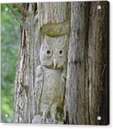 Mr Tingle's Owl Acrylic Print