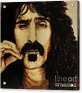 Mr Zappa Acrylic Print