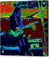 Mrdog # 71 Psychedelically Enhanced Acrylic Print