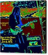 Mrdog # 71 Psychedelically Enhanced W/text Acrylic Print