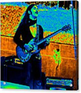 Mrdog #24 In Cosmicolors Crop 2 With Text Acrylic Print