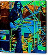 Mrdog #26 Enhanced In Cosmicolors 2 Acrylic Print