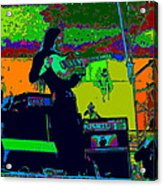Mrdog #8 In Cosmicolors 2 Acrylic Print