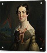 Mrs. Eunice Hall Of Portland, Maine Acrylic Print