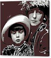 Mrs. Evelyn Nesbit Thaw And Son Arnold Genthe Photo New York 1913-2014 Acrylic Print