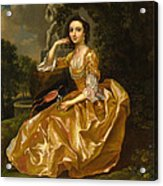Mrs. Mary Chauncey Acrylic Print