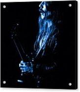 Mrush #11 In Blue Acrylic Print