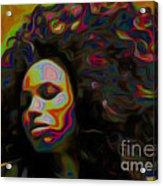 Ms Alt-titude Acrylic Print