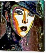 Ms Boss Lady Acrylic Print