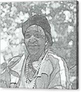 Ms. Ida  Acrylic Print by Rosemarie E Seppala