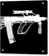 Msar Stg-556 Reversed Acrylic Print