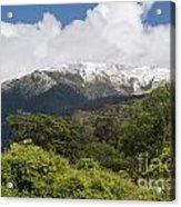 Mt. Aspiring National Park Mountains Acrylic Print