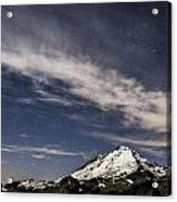 Mt. Baker At Night 2 Acrylic Print